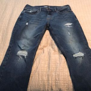 Old Navy 33/30 Jeans Distressed